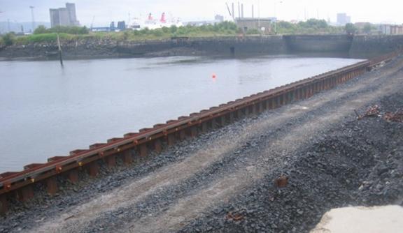 Abercorn East Quay Wall
