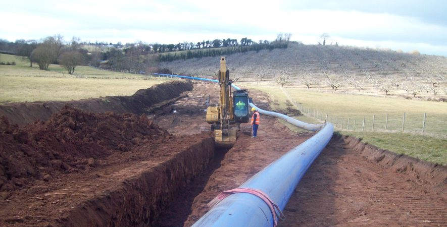 Castor Bay to Dungannon Strategic Trunk Main