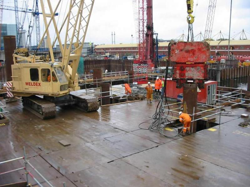 BP2 Marine Deck - Canary Wharf
