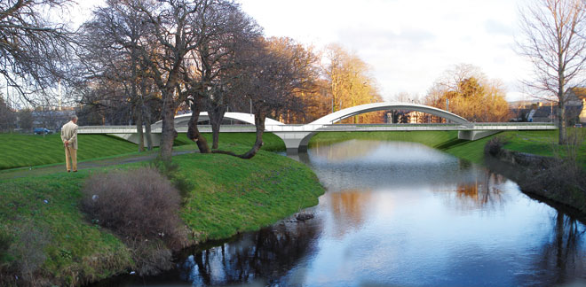 Pansport Bridge, Elgin FAS
