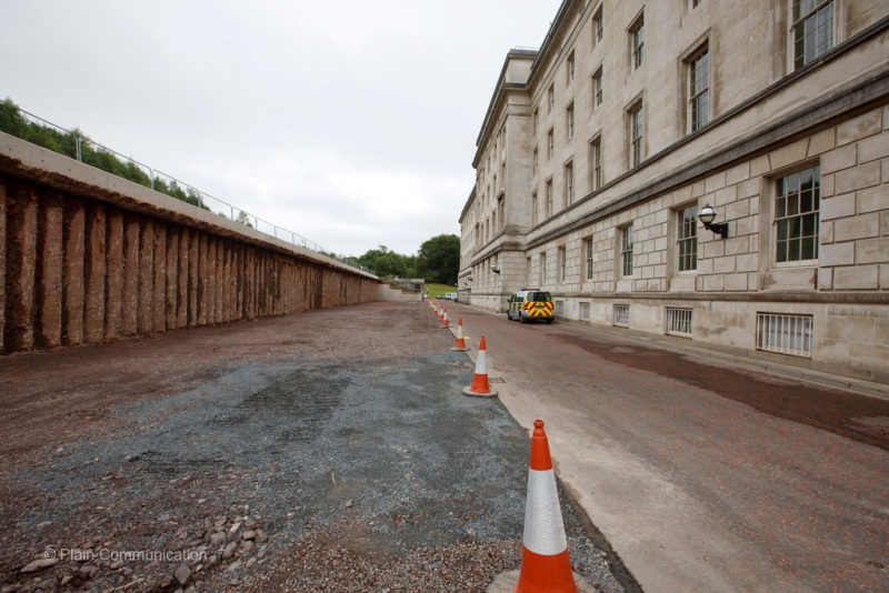 Parliament Buildings Retaining Wall