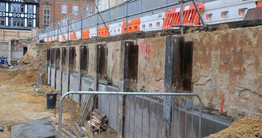 University Arms King Post Wall Dawson Wam
