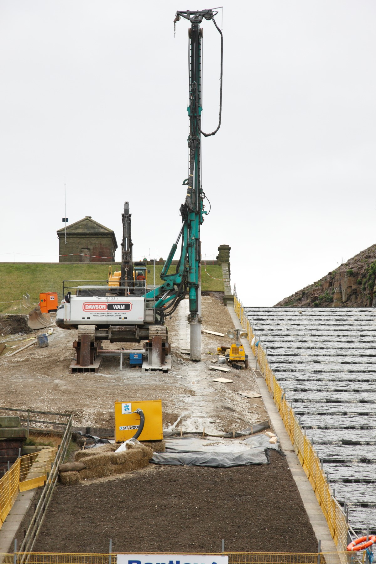aYorkshire: Blakeley Reservoir Spillway Upgrade