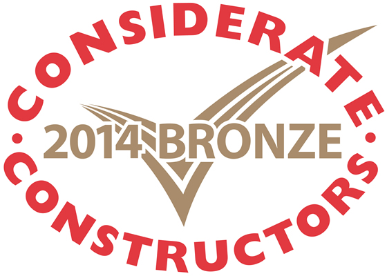 Bronze Considerate Constructors  Scheme National Site Award 2014
