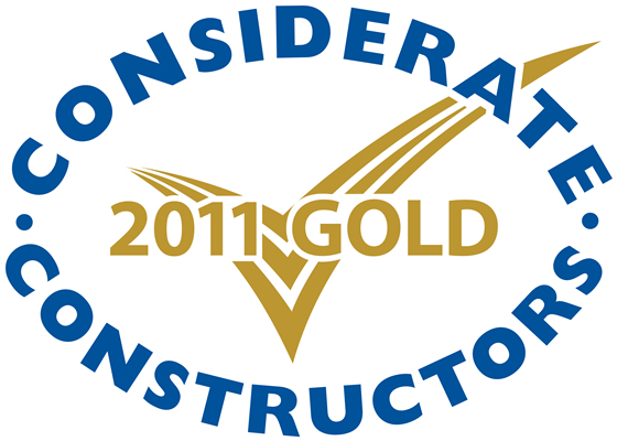 Gold Considerate Constructors Scheme National Company Award 2011
