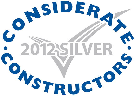 Silver Considerate Constructors Scheme  National Company Award 2012