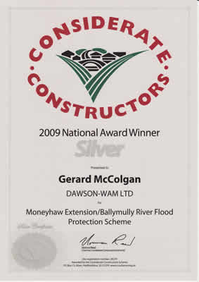 Silver Considerate Constructors 2008