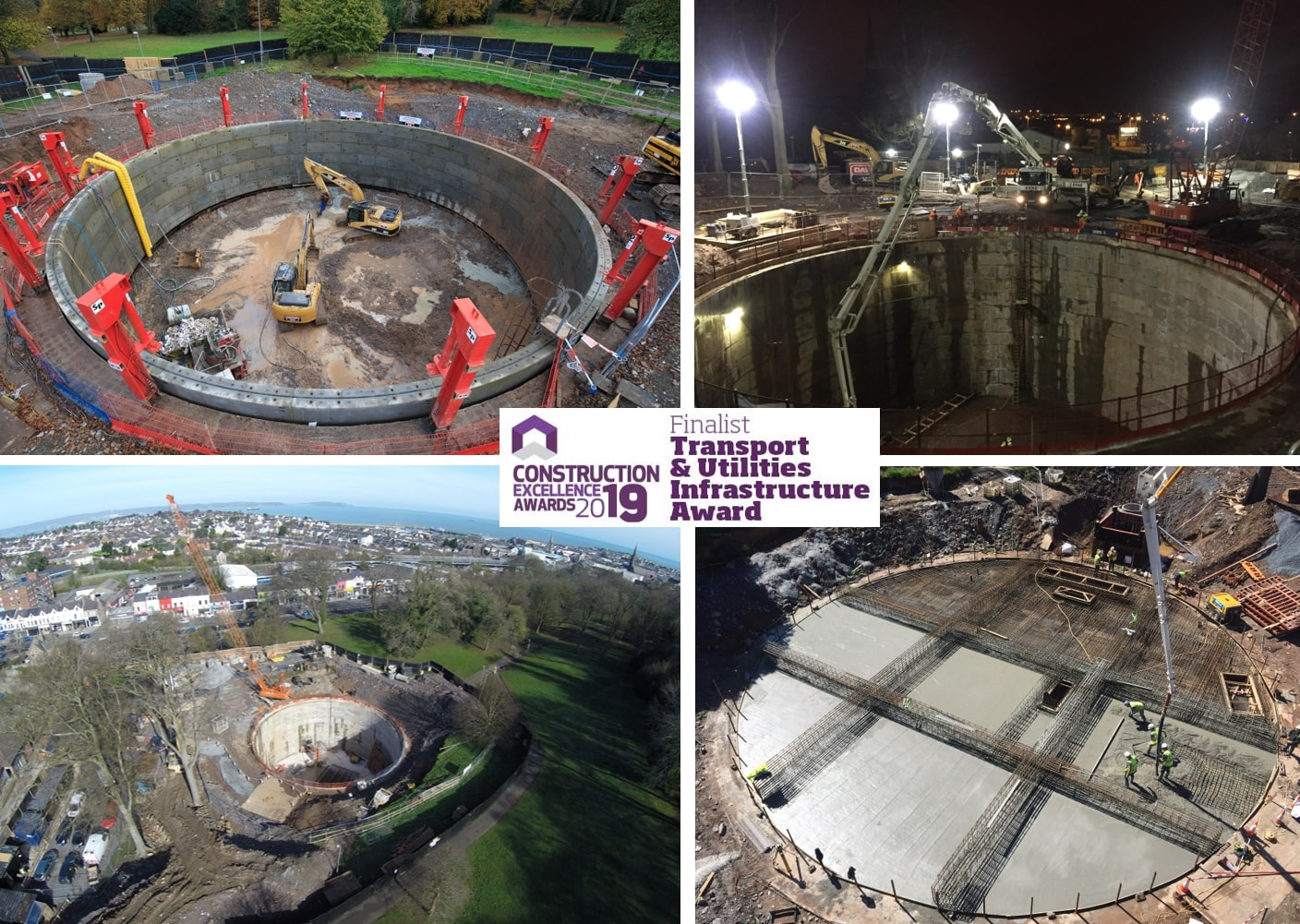 Shortlisted for the Construction Employers Federation (CEF) Construction Excellence Awards 2019!