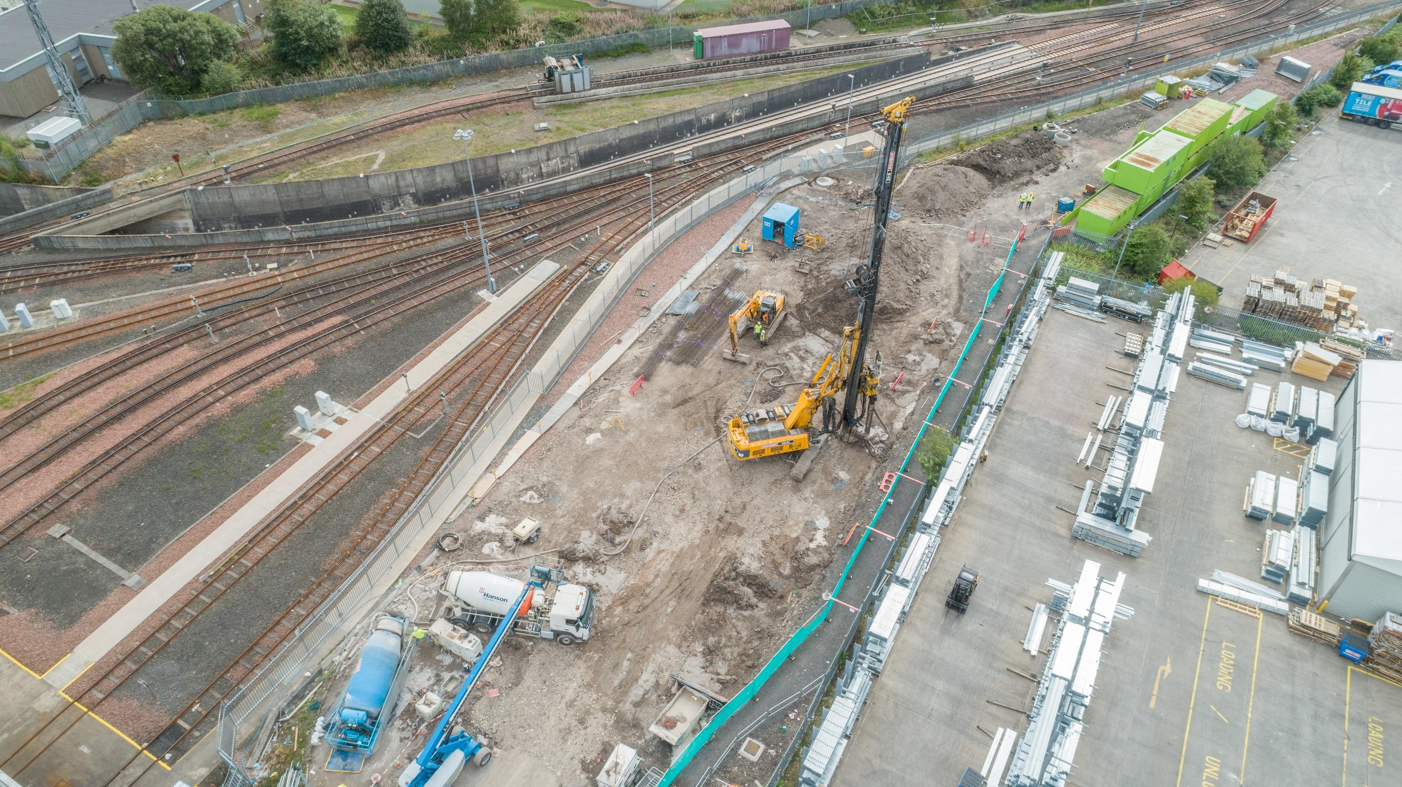 Piling at Glasgow Subway System Complete.. And other news!