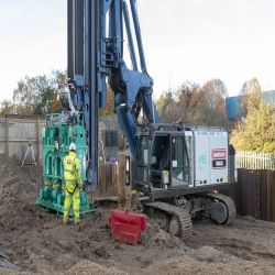 Sheet Piling Capacity Increases with new Hammer and Press Purchases