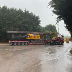 Busy in Belfast as Our RTG25S Gets Ready to Leave Our Carryduff Yard