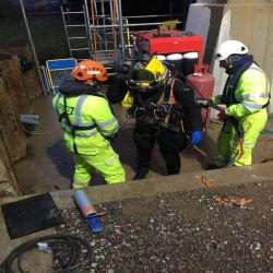 Specialist Diving Works Completed on M4