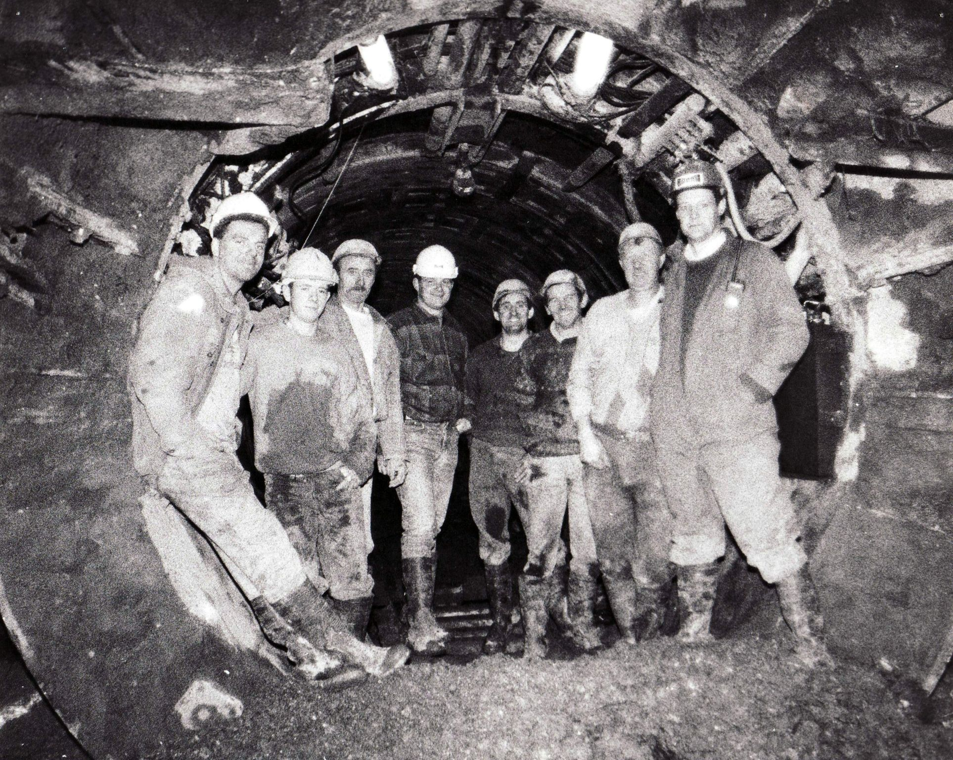 From the Archive: 3m Diameter Sewer Constructed in 1994, Belfast