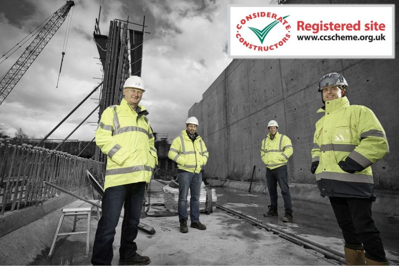 CCScheme Score of 44 for our Belfast WwTW Extension
