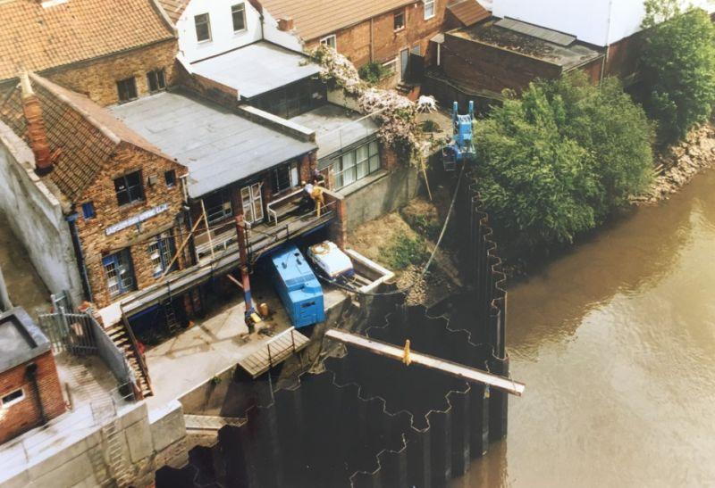 From the Archive: Gainsborough Flood Alleviation Scheme