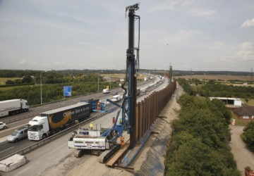 Look back to the M25 Widening Project