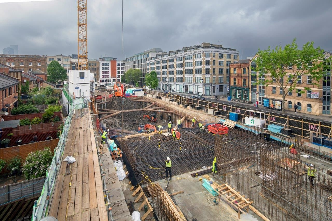 Multi-discipline Foundation Package Completed for Gilbert-Ash in Farringdon