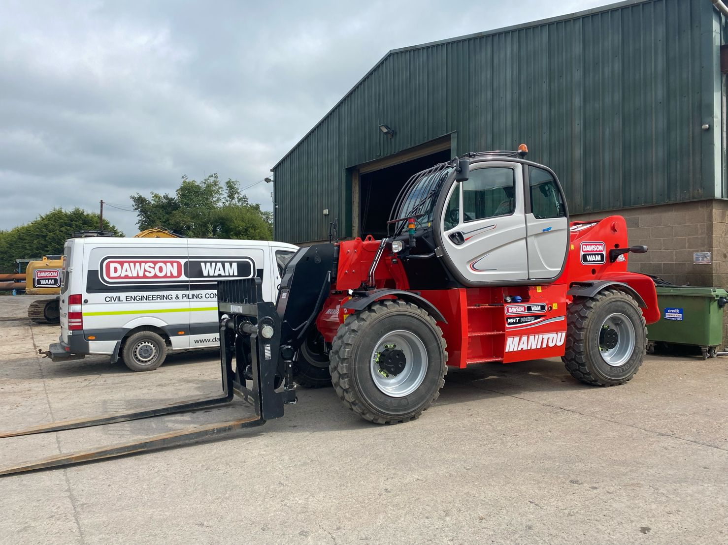NEW 13ton Loadall for our Bedfordshire Yard