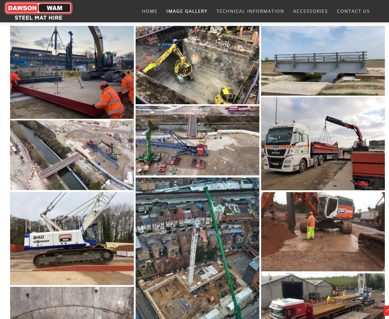Our NEW Steel Mat Hire Website is now LIVE!
