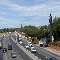 Full Steam ahead on M6 Smart Motorway Project