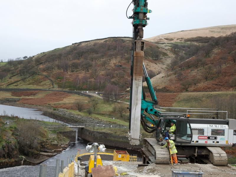 Yorkshire: Blakeley Reservoir Spillway Upgrade