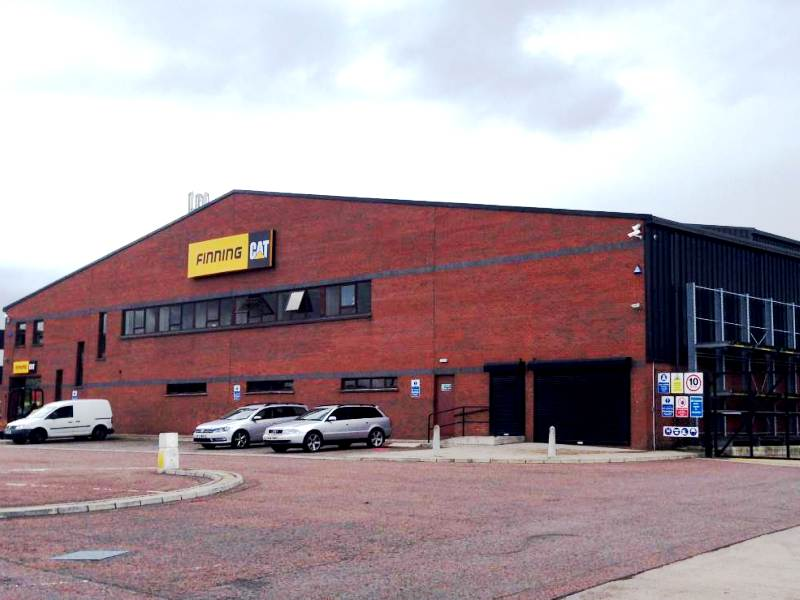 Caterpillar NI Headquarters and Distribution Depot