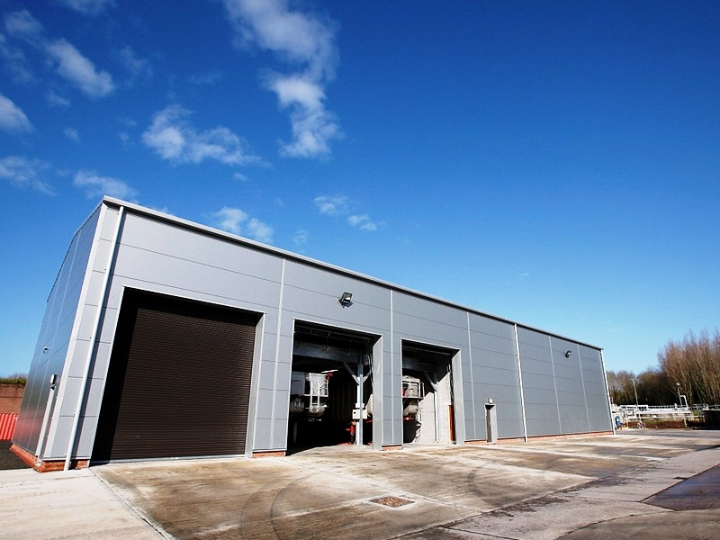 Dunmurry WWTW Dewatering Industrial Unit