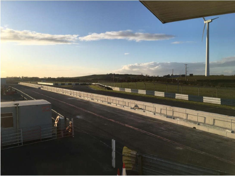 Northern Ireland: Kirkistown Pit Wall