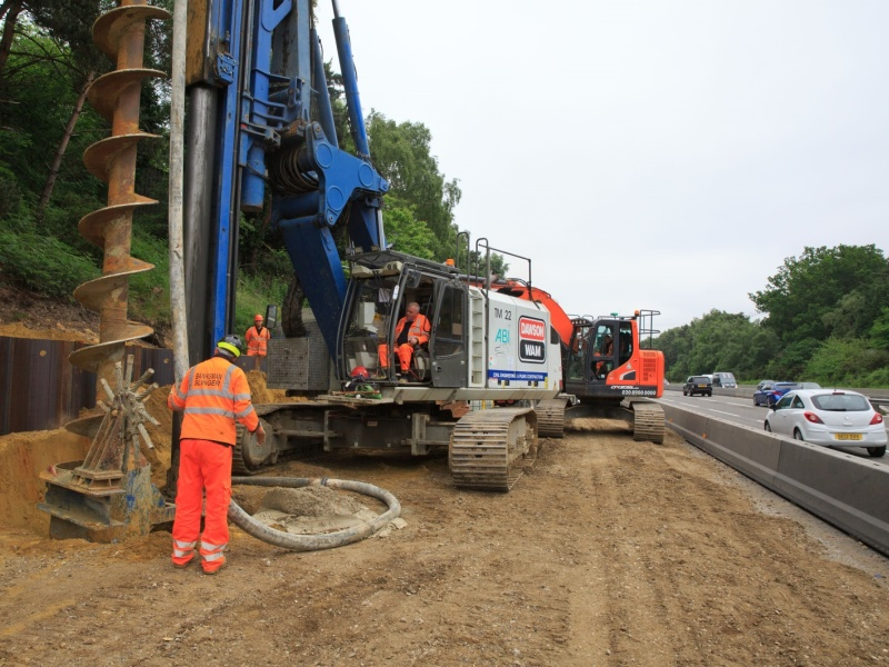 Hampshire: M3 J2-4a Smart Motorway Project