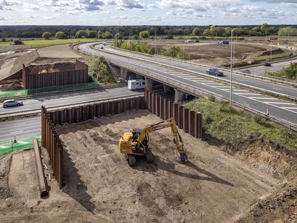 London: M4 J3-12 Smart Motorway
