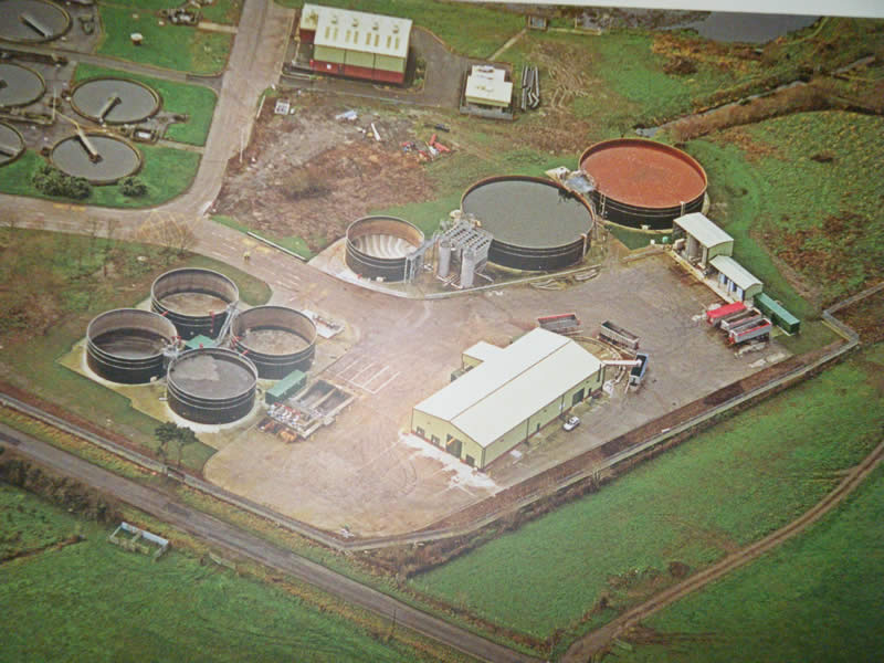 Northern Ireland: Ballynacor Sludge Dewatering Plant