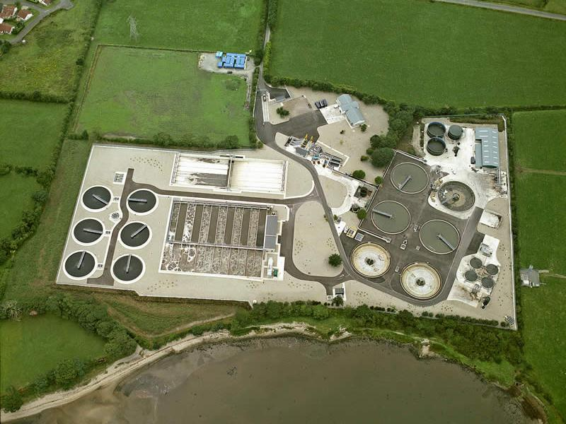 Northern Ireland: Culmore Waste Water Treatment Works