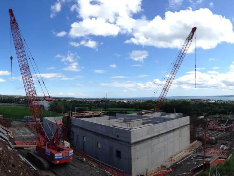 Northern Ireland: Dorisland WTW, GAC Filter Building