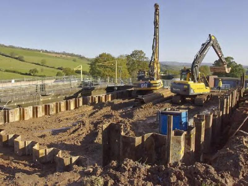 Somerset: Maundown WTW Cofferdam
