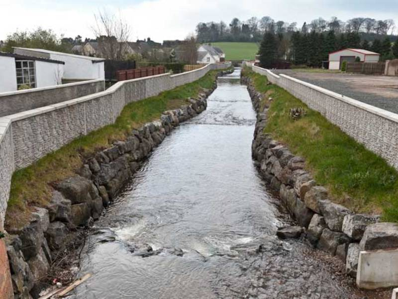 Northern Ireland: Moneymore Flood Defence Scheme