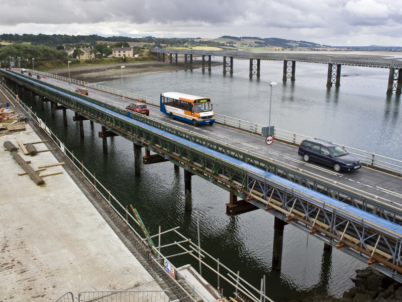 Angus: Montrose Bridge with Pedestrian Walkway