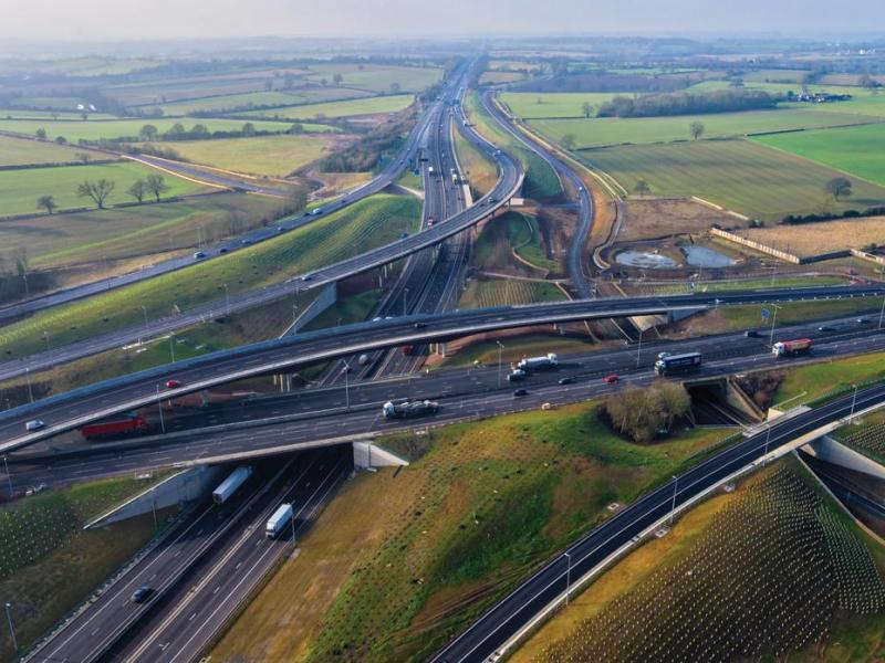 Leicestershire: M1 Junction 19 Improvement Scheme