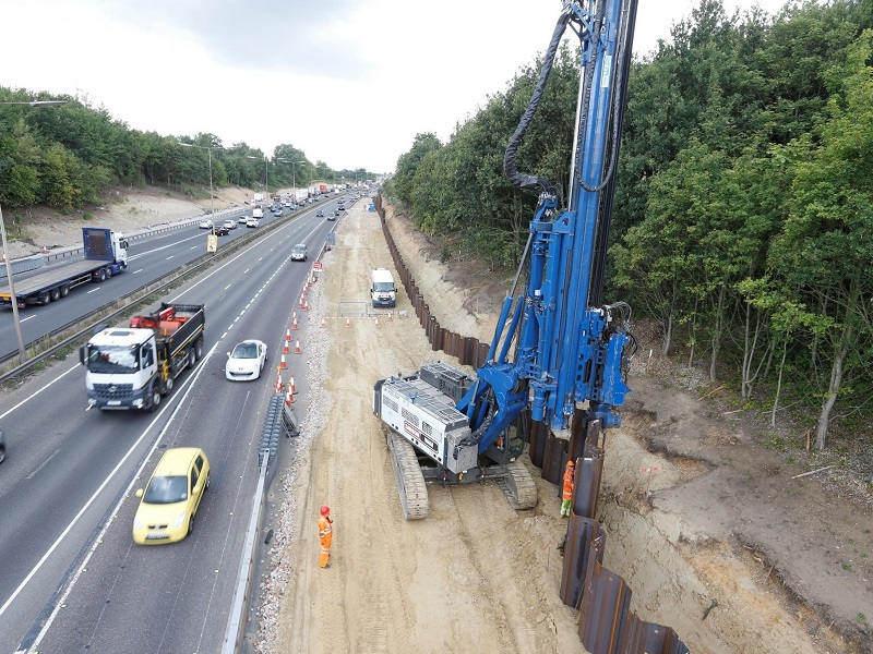 London: M25 J30/A13 Junction Upgrade