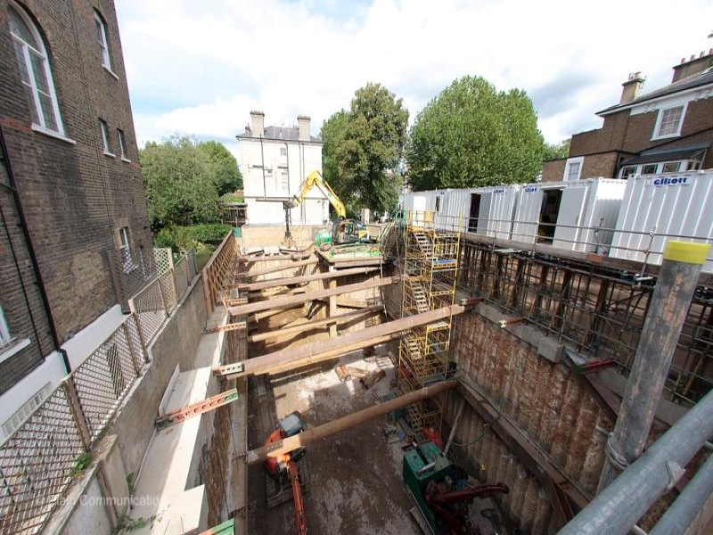 London: Tregunter Road Basement