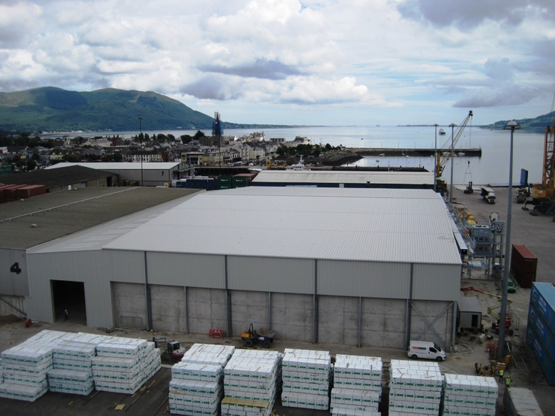 Northern Ireland: Warrenpoint Harbour Grain Store