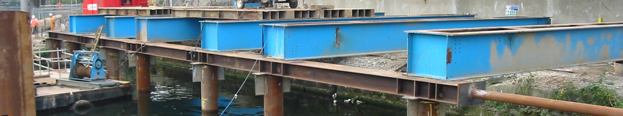 Jetties and Working Platforms